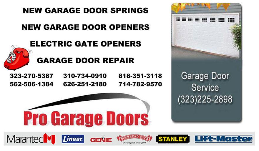 replace broken garage door springs, garage door repair, new garage ...